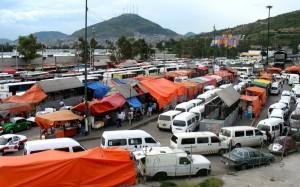 Indios Verdes foco de tráfico y ambulantaje